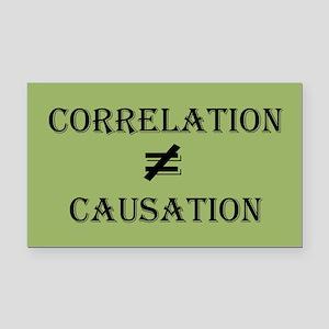 Correlation Causation Rectangle Car Magnet