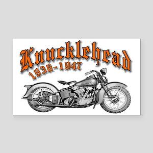 Knucklehead Rectangle Car Magnet