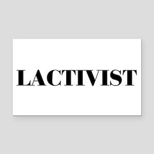 Lactivist Rectangle Car Magnet