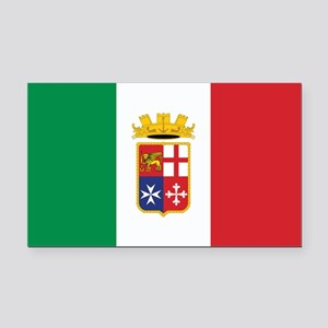 Italy Naval Ensign Rectangle Car Magnet