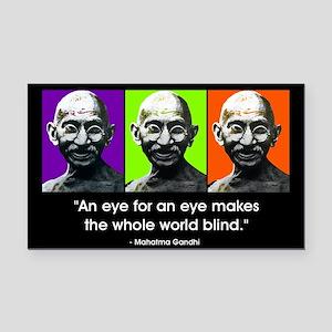 An eye for an eye Rectangle Car Magnet