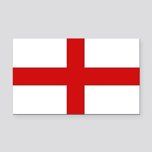 English Flag Rectangle Car Magnet