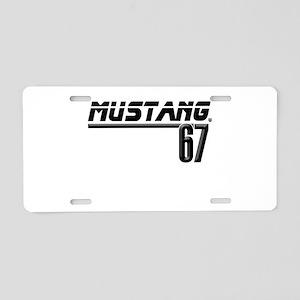 stangbar67 Aluminum License Plate