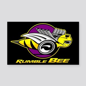 Rumble Bee Rectangle Car Magnet