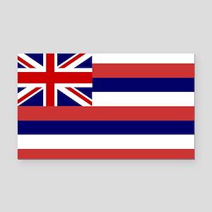 Hawaii Flag Rectangle Car Magnet