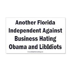 Florida Independent Wall Decal