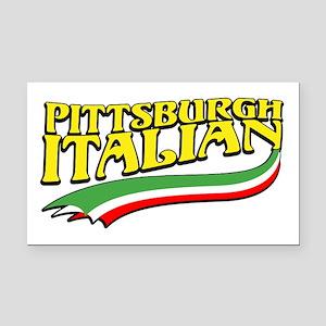 Pittsburgh Italian Pride Rectangle Car Magnet