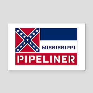 Mississippi Pipeliner Rectangle Car Magnet