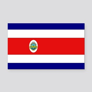 Costa Rican Flag Rectangle Car Magnet
