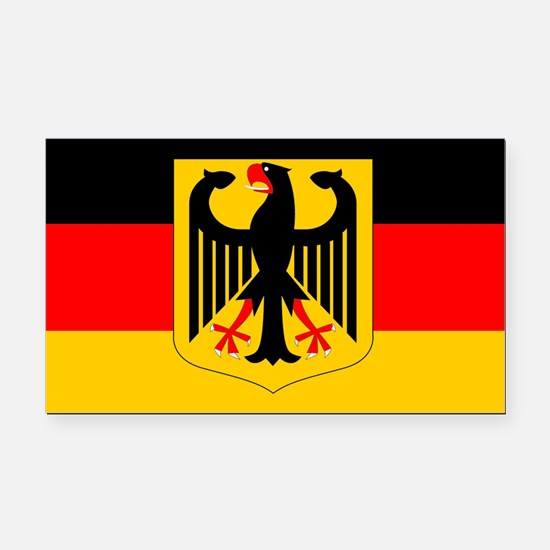 Germany w/ coat or arms Rectangle Car Magnet