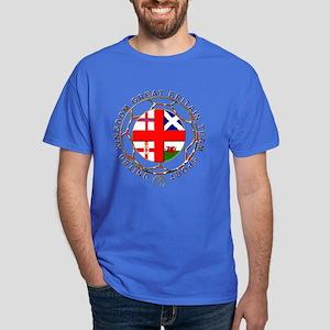 Great Britain team sport national flag crest Dark