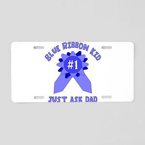 ribbondad Aluminum License Plate