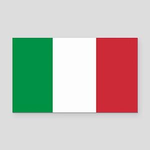 Italian Flag Rectangle Car Magnet