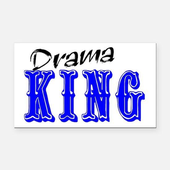 Drama King Rectangle Car Magnet