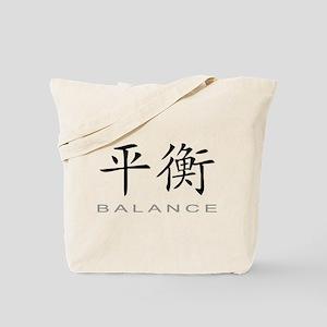 Chinese Symbol for Balance Tote Bag