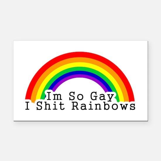 Im So Gay Rectangle Car Magnet