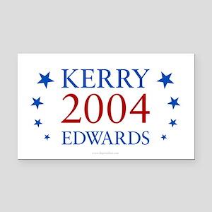Kerry Edwards 2004 Rectangle Car Magnet