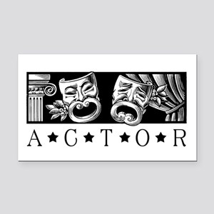 Classical Actor Rectangle Car Magnet
