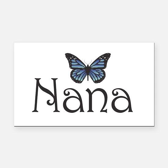 Nana Rectangle Car Magnet