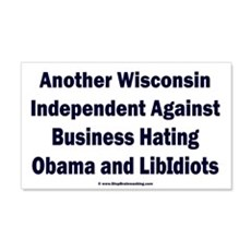 Wisconsin Independent Wall Decal