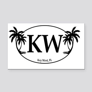 KW Rectangle Car Magnet