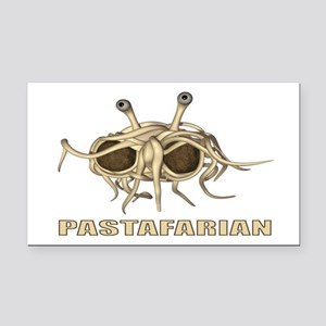 Pastafarian 3x5 Rectangle Car Magnet