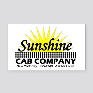 Sunshine Cab Co Rectangle Car Magnet
