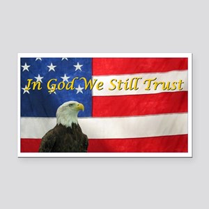 In God We Still Trust Rectangle Car Magnet