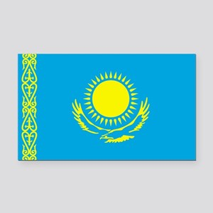 Kazakhstan Rectangle Car Magnet