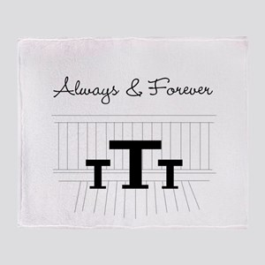 Naley - Always Forever Throw Blanket