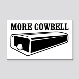 more cowbell Rectangle Car Magnet