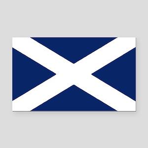 Scottish Flag Auto Decal / Rectangle Car Magnet