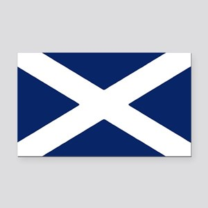 Scottish Flag Auto Decal / Rectangle Car Magnet