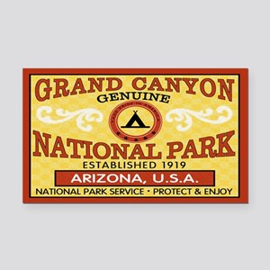Grand Canyon National Park Rectangle Car Magnet