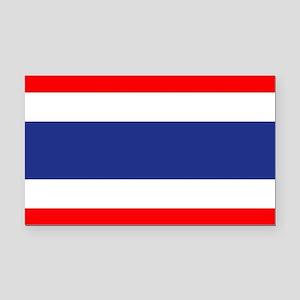 Thai Flag Rectangle Car Magnet