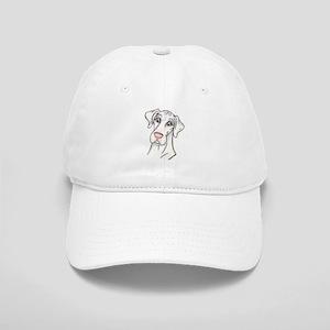 N Pinknose Wht Cap