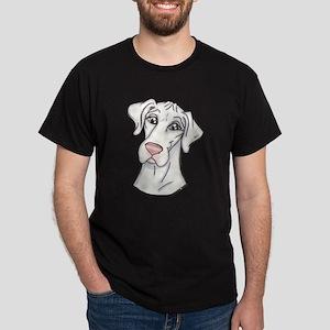 N Pinknose Wht Dark T-Shirt
