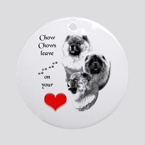 Chow 4 Ornament (Round)