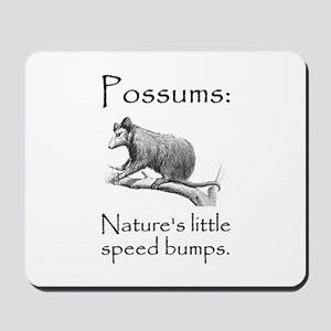 Possum Speed Bump Mousepad