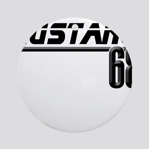Mustang 68 Ornament (Round)
