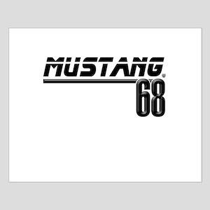 Mustang 68 Small Poster