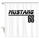 Mustang 68 Shower Curtain
