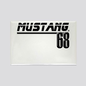 Mustang 68 Rectangle Magnet