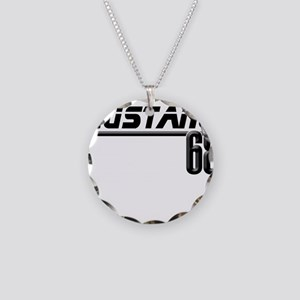 Mustang 68 Necklace Circle Charm