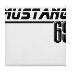 Mustang 69 Tile Coaster