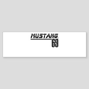 Mustang 69 Sticker (Bumper)