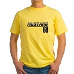 Mustang 69 Yellow T-Shirt