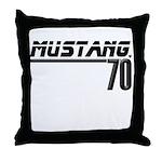 Mustang 70 Throw Pillow