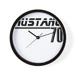 Mustang 70 Wall Clock