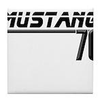 Mustang 70 Tile Coaster